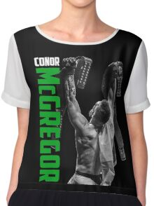 Conor McGregor - UFC Two Weight World Champ Chiffon Top