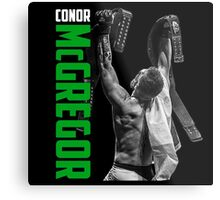 Conor McGregor - UFC Two Weight World Champ Metal Print