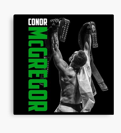 Conor McGregor - UFC Two Weight World Champ Canvas Print