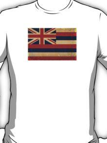 Hawaii State Flag VINTAGE T-Shirt
