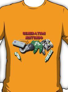 Generations of Nintendo T-Shirt