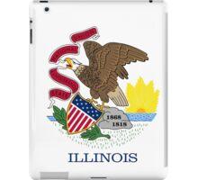Illinois State Flag  iPad Case/Skin
