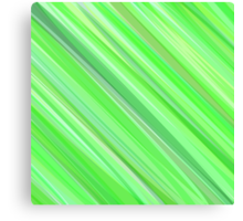 Green Painted Background Canvas Print