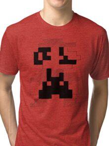 8 Bit Mario Tri-blend T-Shirt