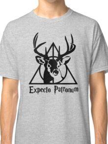Expecto patrpnum Deathly hallows stag Classic T-Shirt