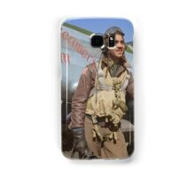 Edward C. Gleed Tuskegee airman — Colorized Samsung Galaxy Case/Skin