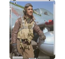 Edward C. Gleed Tuskegee airman — Colorized iPad Case/Skin