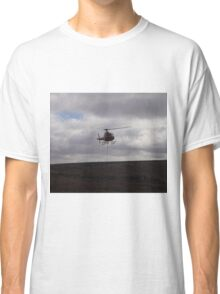 Farming With A Helicopter Classic T-Shirt