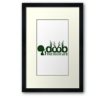 Smoke Doob(ies) Framed Print
