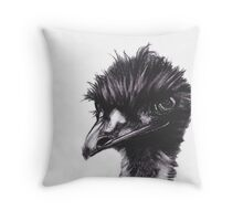 Emu - Wise Throw Pillow
