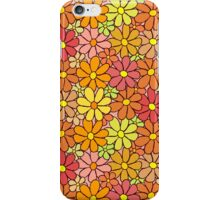 Intensive Colorful Flower Pattern iPhone Case/Skin