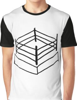 Wrestling RIng Graphic T-Shirt