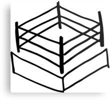 Wrestling RIng Metal Print