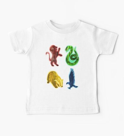 Hogwarts houses forest Baby Tee