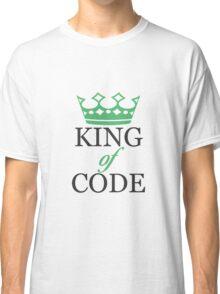 King of Code - black Classic T-Shirt