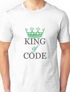 King of Code - black Unisex T-Shirt