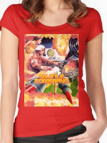 MISSILE COMMAND - ATARI 2600 LABEL CLASSIC Women's Fitted Scoop T-Shirt