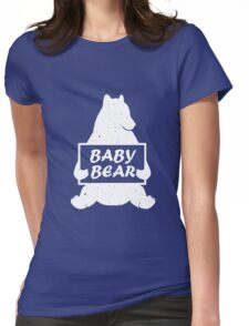 Baby Bear Funny T Shirt Womens Fitted T-Shirt