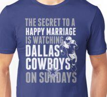 Dallas-Cowboys Shirt Couple Football T-Shirts Unisex T-Shirt