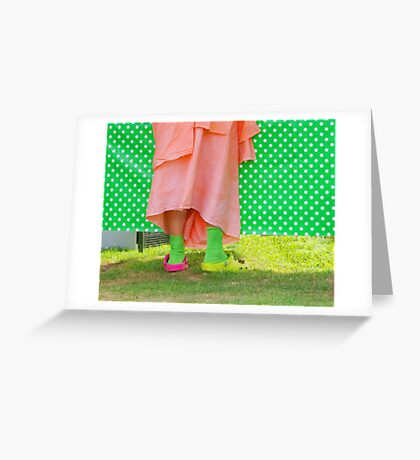 And Bells on His Toes  Greeting Card