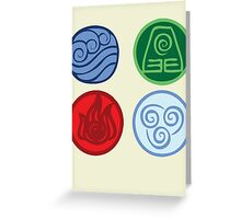 Elements Greeting Card