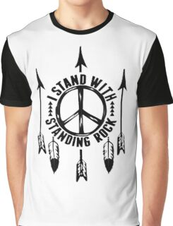 i stand with standing rock - water is life Graphic T-Shirt