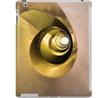 Golden spiral iPad Case/Skin