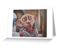 Dobby Greeting Card