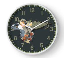 retro pin-up Clock