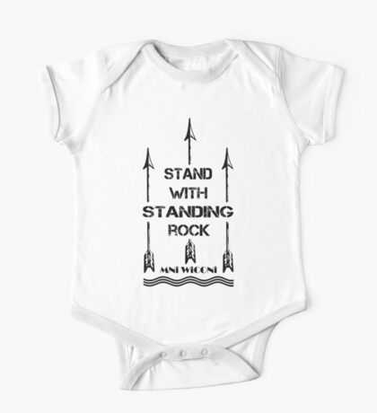 i stand with standing rock - water is life One Piece - Short Sleeve