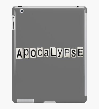 Apocalypse concept. iPad Case/Skin
