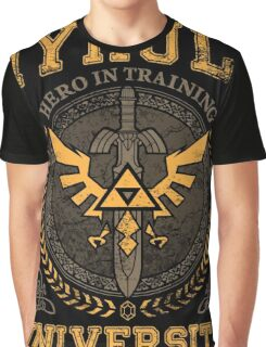 Hyrule University hero in training Graphic T-Shirt