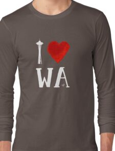 I Heart Seattle (remix) Long Sleeve T-Shirt