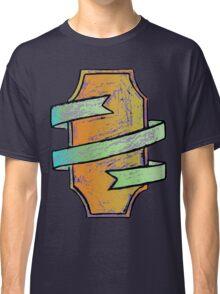 Ribbon Wrapped Shield II Classic T-Shirt