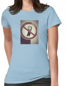 retro photo Womens Fitted T-Shirt