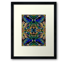 When silence is heard its music comes alive Framed Print