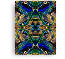 When silence is heard its music comes alive Canvas Print