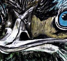 Kaz Art Creations Cheeky Blue Emu Sticker