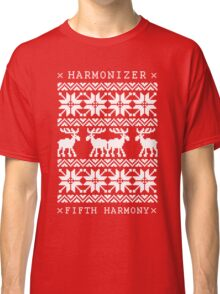 FIFTH HARMONY CHRISTMAS SWEATER KNITTED PATTERN Classic T-Shirt