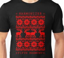 FIFTH HARMONY CHRISTMAS SWEATER KNITTED PATTERN Unisex T-Shirt