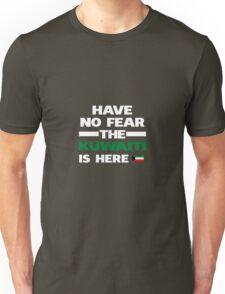 No Fear Kuwaiti Is Here Kuwait Pride Unisex T-Shirt