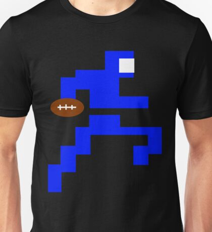 Classic Video Game Football Player Intellivision Unisex T-Shirt