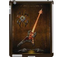 Black Metal iPad Case/Skin