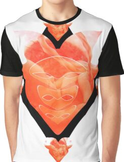 Weird Art Heart Graphic T-Shirt
