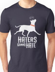 Haters Gonna Hate Pitbull Unisex T-Shirt