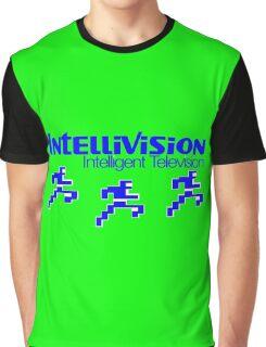 Intellivision Running Man Football  Graphic T-Shirt