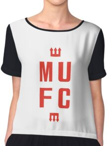 MUFC Red Devil  Chiffon Top