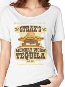 Strax's Memory Worm Tequila Women's Relaxed Fit T-Shirt
