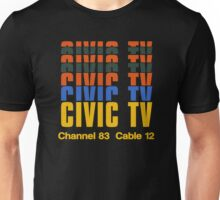 CIVIC TV - VIDEODROME MOVIE Unisex T-Shirt
