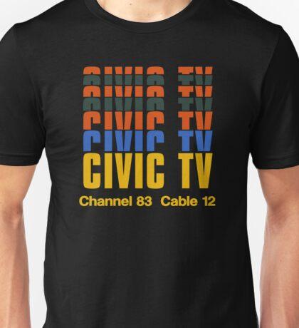 CIVIC TV - VIDEODROME MOVIE Unisex T-Shirt